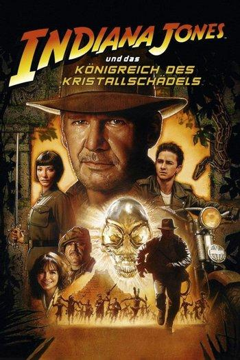 Poster of Indiana Jones and the Kingdom of the Crystal Skull