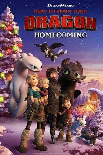 Poster of How to Train Your Dragon: Homecoming