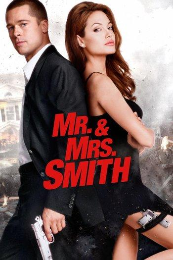 Poster of Mr. & Mrs. Smith