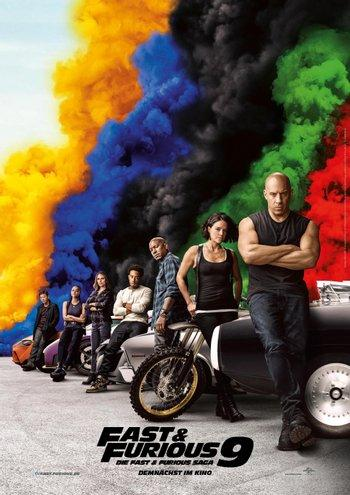 Poster of Fast and Furious 9