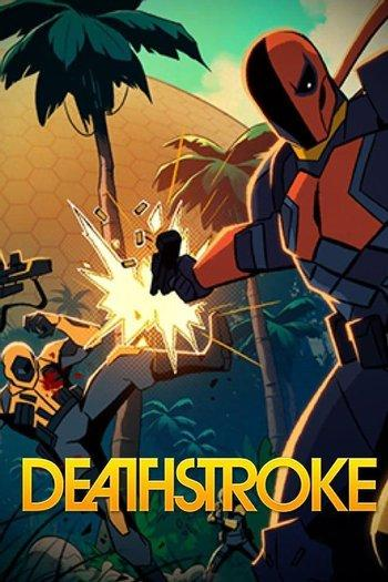 Poster of Deathstroke: Knights And Dragons