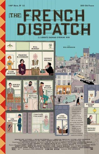 Poster of The French Dispatch
