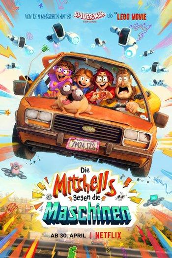 Poster of The Mitchells vs The Machines