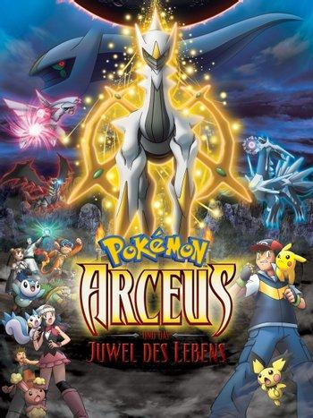 Poster of Pokémon: Arceus and the Jewel of Life