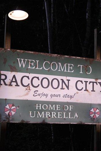 Poster of Resident Evil: Welcome to Raccoon City