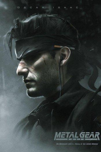 Poster of Metal Gear Solid