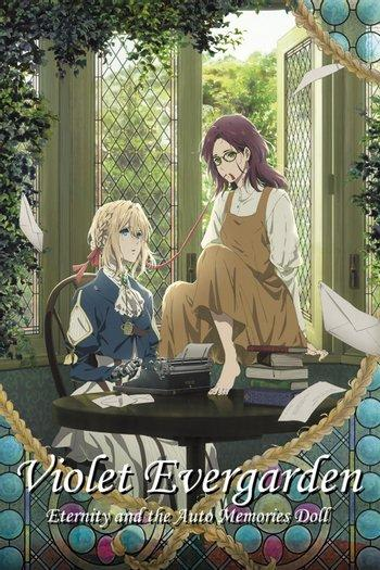 Poster of Violet Evergarden: Eternity and the Auto Memory Doll