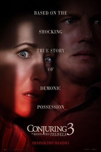 Poster of The Conjuring 3: The Devil Made Me Do It