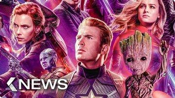 Image of The Flash, Avengers: Endgame, Guardians of the Galaxy 3